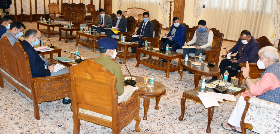 LG asks DCs to scale up vaccination, ensure COVID-appropriate behavior