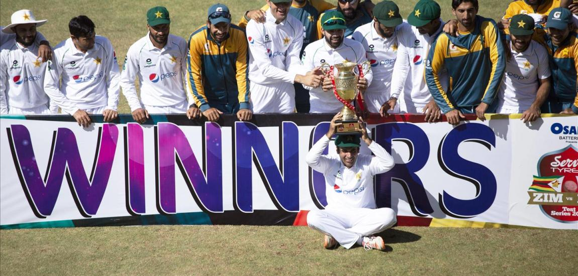 Pakistan seals 2nd test and 2-0 series sweep in Zimbabwe