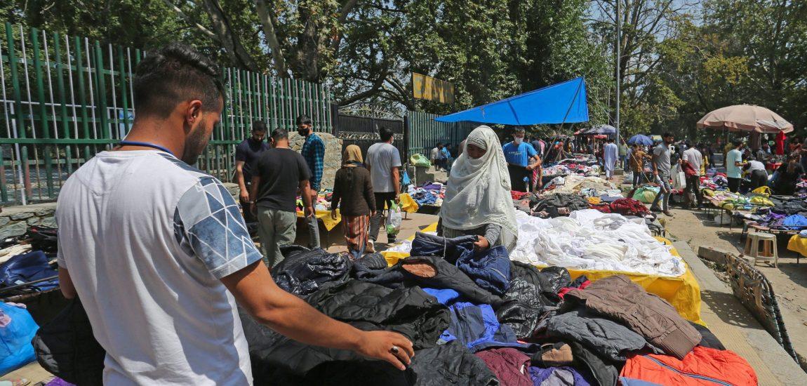 Srinagar's flea market