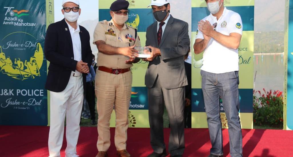 J&K Police's water sports event Jash-ne-Dal concludes