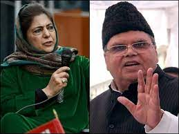 Mufti sends legal notice to Satya Pal Malik over his 'defamatory' remarks against her