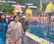 Union MoS Education Annpurna Devi visits Martand Sun temple
