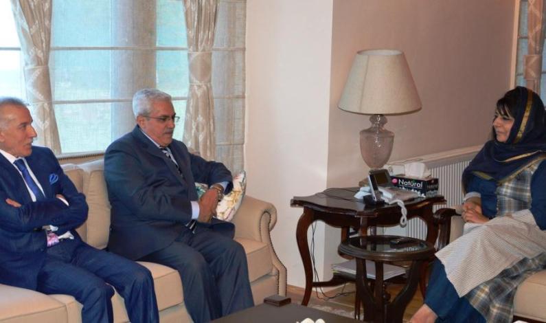 Jordan, Algerian ambassadors call on Chief Minister