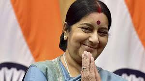 Sushma expresses happiness after Kashmiri man changes his twitter profile address