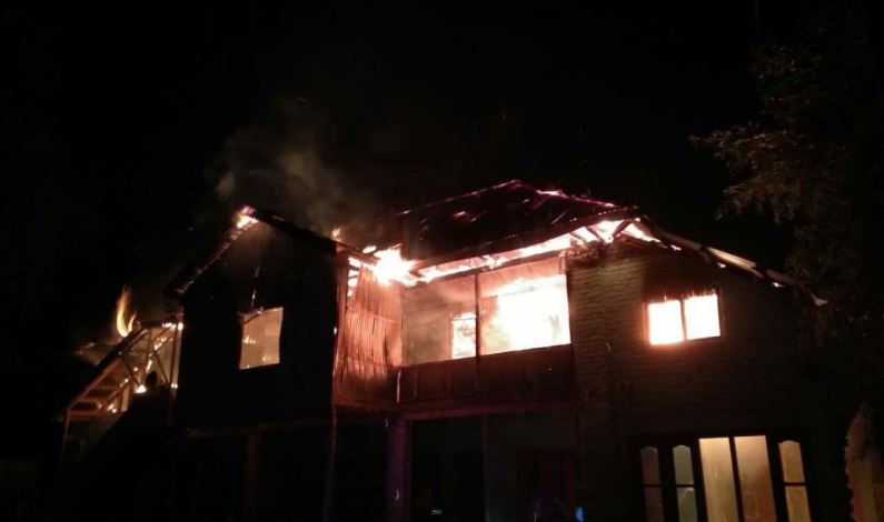 Religious seminary gutted in overnight fire in Kupwara