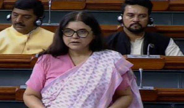 Maneka Gandhi moves anti-trafficking Bill in Lok Sabha