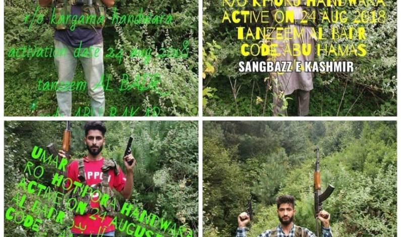 A day after joining militancy, Army claims to have arrested all four new militant recruits in north Kashmir
