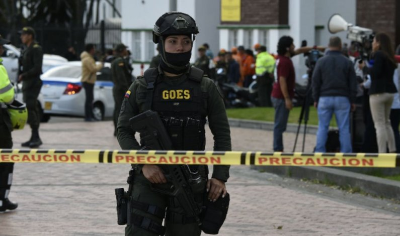 Car bomb blast at Colombia police academy kills 10, wounds 65