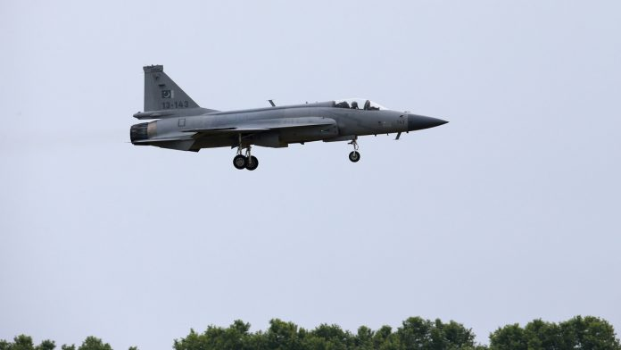 PAF carries out readiness exercises from motorways