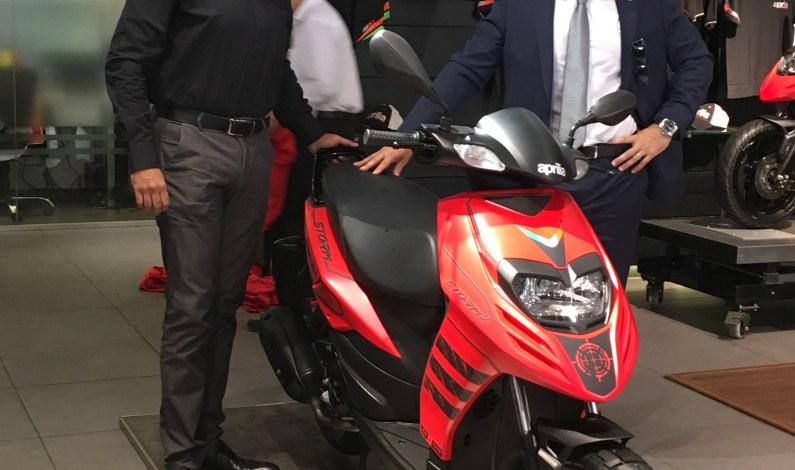 Piaggio launches the much-awaited, fun-starter Aprilia Storm in India