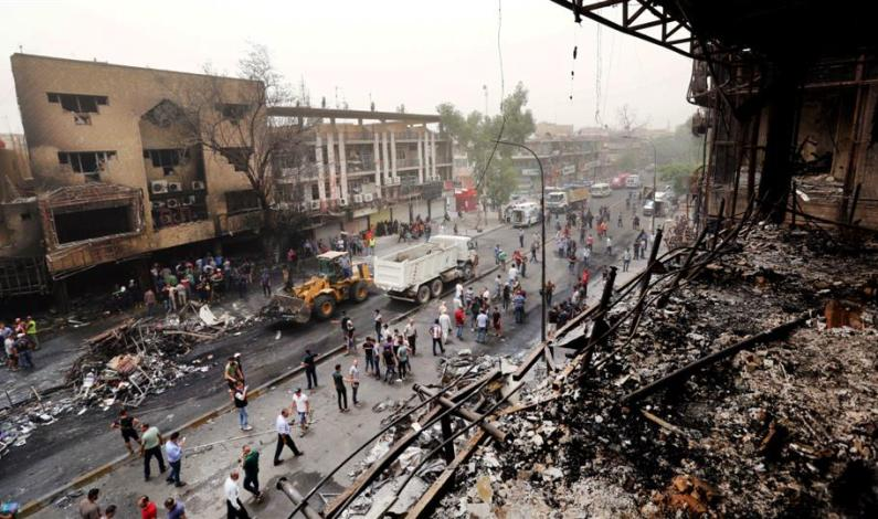 Three civilians killed, 10 wounded in 2 explosions in Iraq