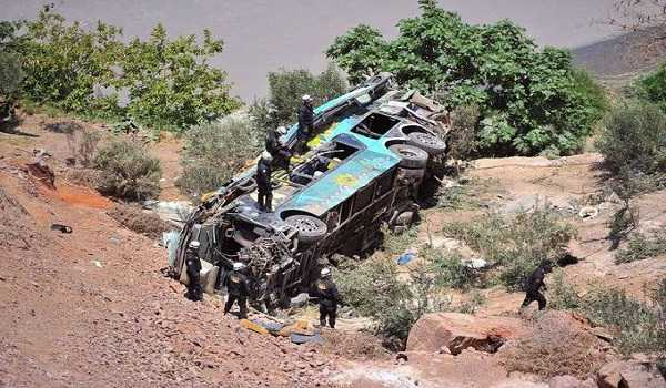 At least 19 dead in Peru mountain road accident