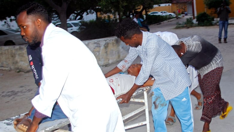 Suicide bomber detonates device in Mogadishu mayor's office, killing 6