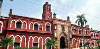 aligarh muslim university, kashmir, map