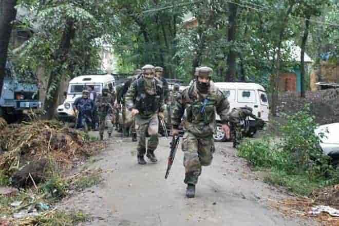 awantipora cordon, gunfight,kashmir news,kashmir