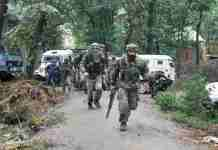 pulwama, south kashmir, kashmir, gunfight