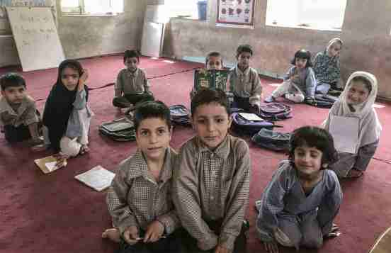 Pashto students in Kashmir