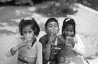 Shabnam, Faizan and Muskaan - three children of Khushboo Jan and Mohammad Ganaie. Photograph by Family.