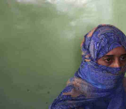 Rubeena Jan - sister of a militant killed in Sopore