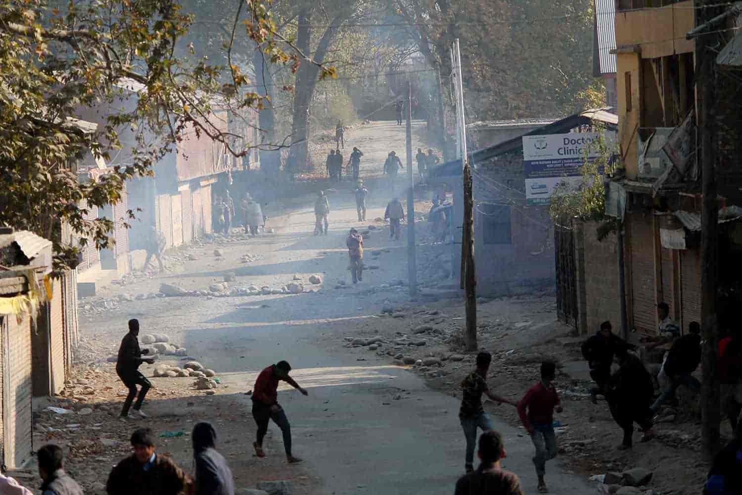 Four rebels killed in gun battle in Indian-administered Kashmir