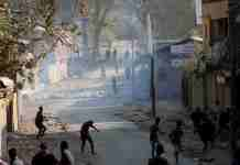 clashes in hajin, kashmir, hajin, kashmir news, mujgund encounter,