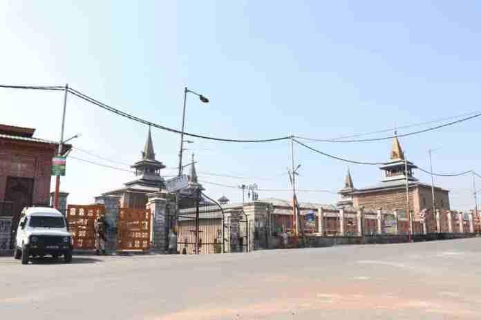 Shutdown in kashmir