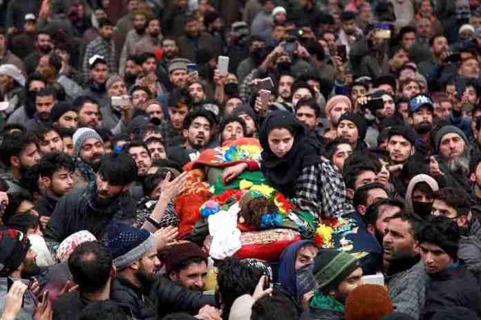 hajin,kashmir, kashmir news, 14 year old militant, hajin,