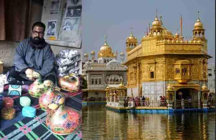 Kashmiri, golden temple, kahsmir student, Khalsa aid