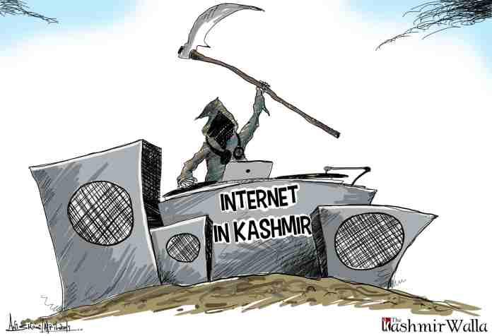 internet in kashmir