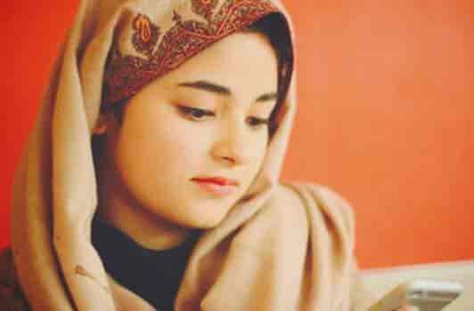 My social media accounts not hacked : Zaira Wasim