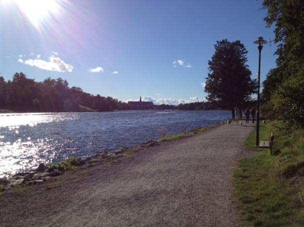 stockholm autumn sunshine
