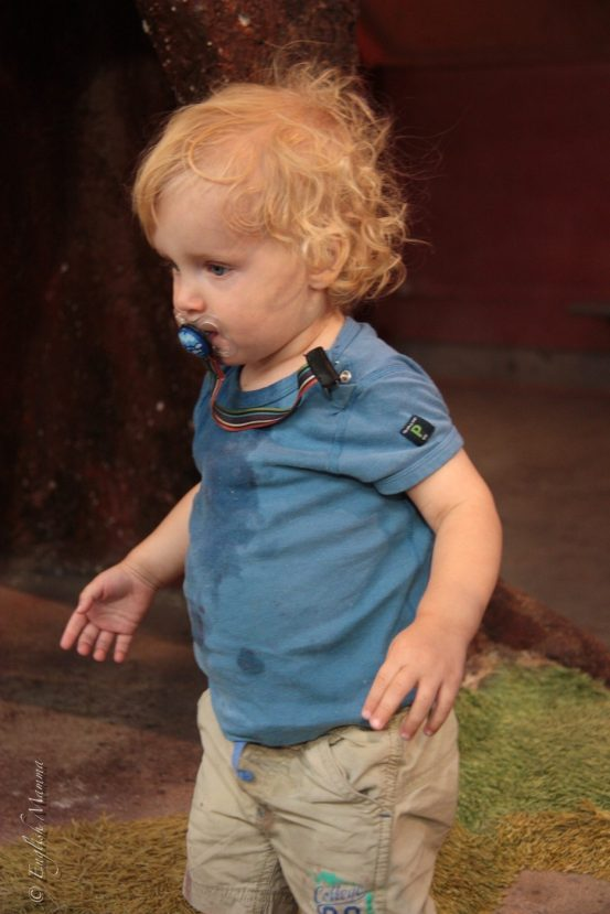 An English Mamma in Stockholm: toddler in wet clothes at Skansen