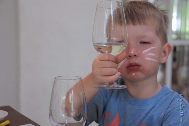 An English Mamma in Stockholm: toddler grape juice tasting spier winery south africa