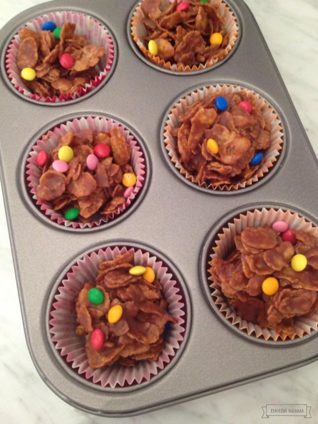 An english Mamma in Stockholm: birthday chocolate cornflakes