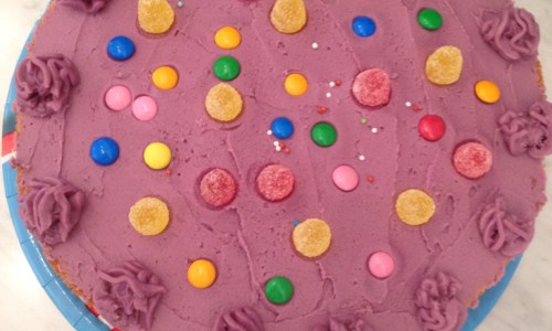 The Kat Edit birthday cake