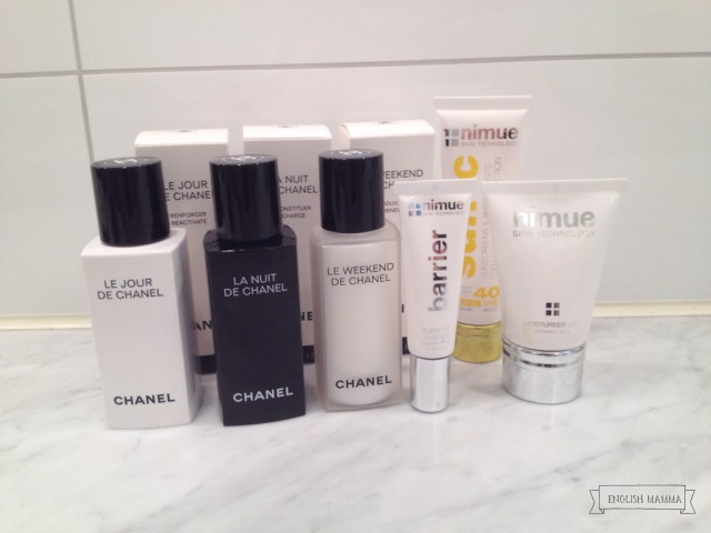 An English Mamma in Stockholm: post-facial good intentions skincare nimue chanel serum