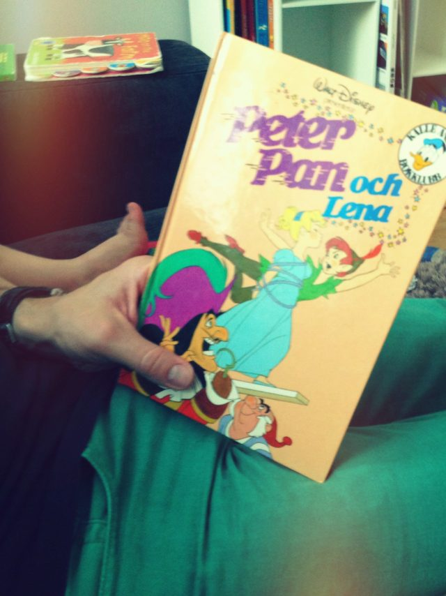 An English Mamma in Stockholm: peter pan book reading aloud
