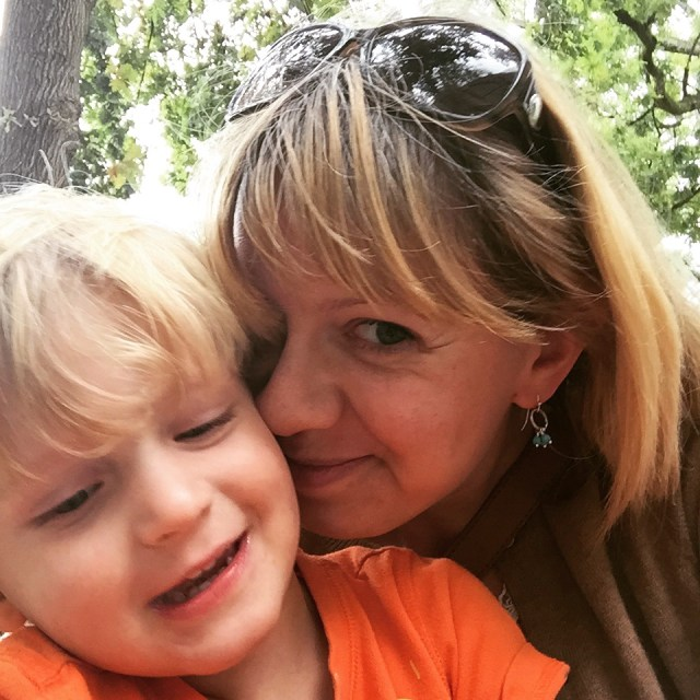 An English Mamma in Stockholm: south african holiday memories toddler snuggles
