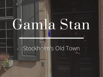 The Kat Edit stellar stories gamla stan stockholm