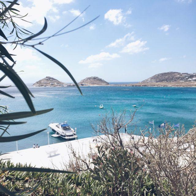 The Kat Edit: Mykonos beach sea view kalafatis