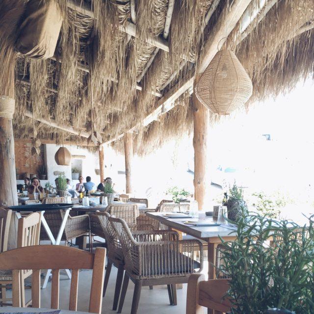 The Kat Edit: kalo livadi beach bar solymar restaurant