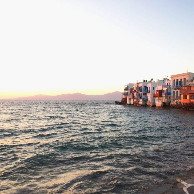 The Kat Edit: quiet side of mykonos town chora little venice