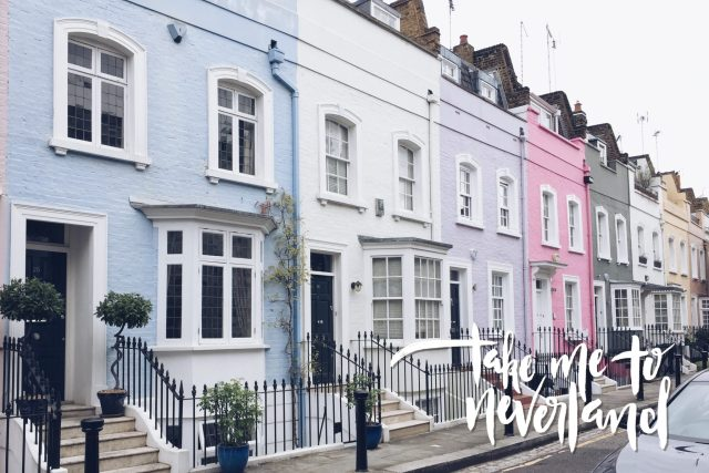 An English Mamma in Stockholm: September favourites pastel houses Chelsea London