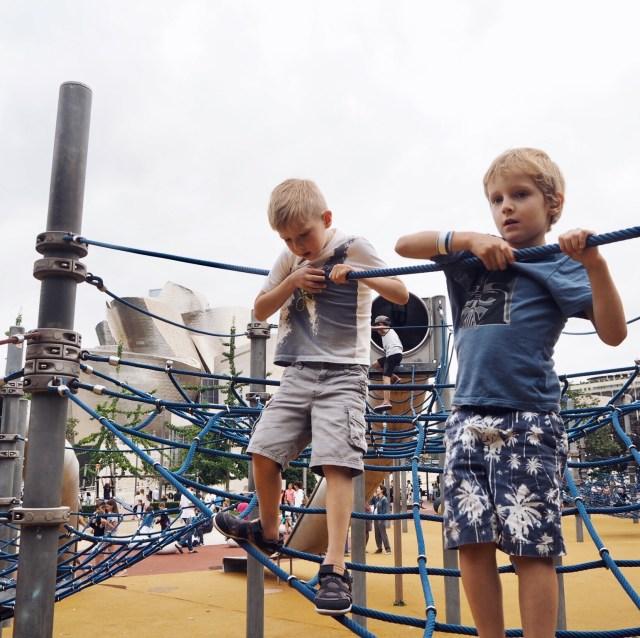 The Kat Edit northern spain bilbao guggenheim playground