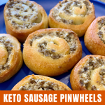 Keto Sausage Pinwheels The Katherine Chronicles