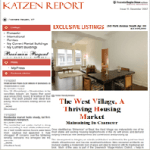 Issue 12, December 2007: The West Village, A Thriving Housing Market