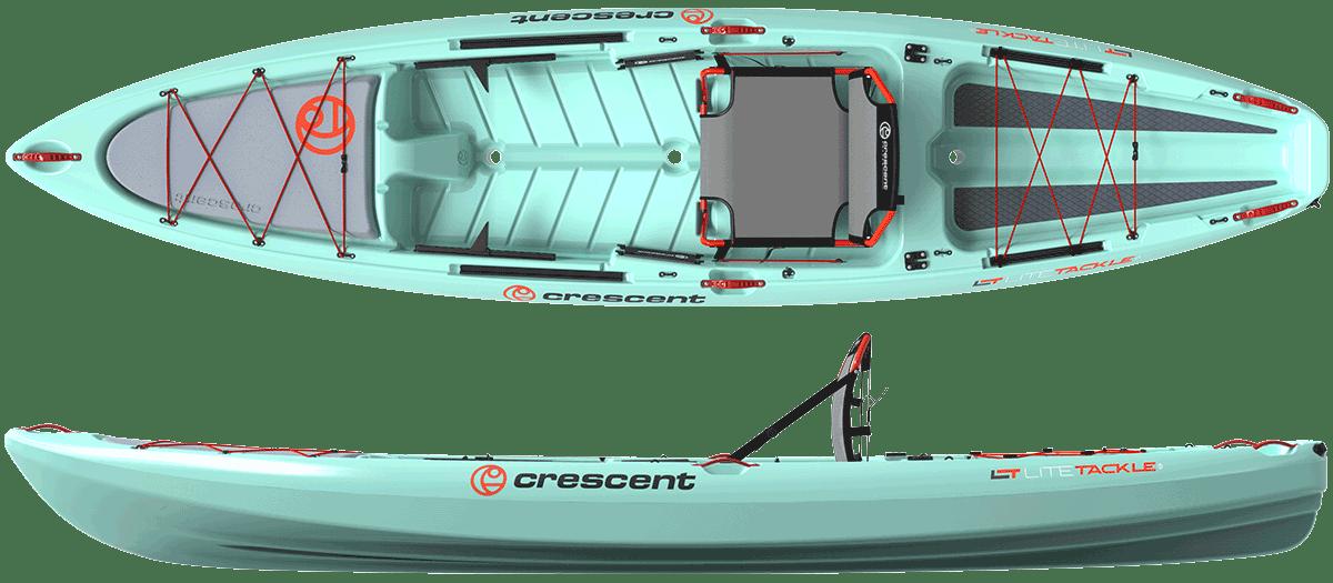 Crescent LiteTackle Seafoam