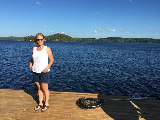 cottage life, dock, boating ontario lakes