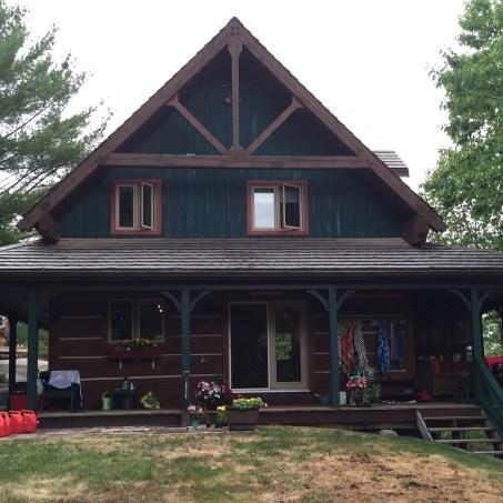 cottage, lake, vacation cottage,