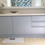 Painted Bathroom Vanity-Boys Bathroom Reno Part 2